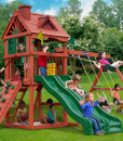 Cavalier Swing Set - Double Down Swing Set