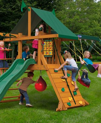 Latitude Swing Set - High Point Swing Set
