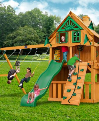 Horizon Clubhouse Swing Set