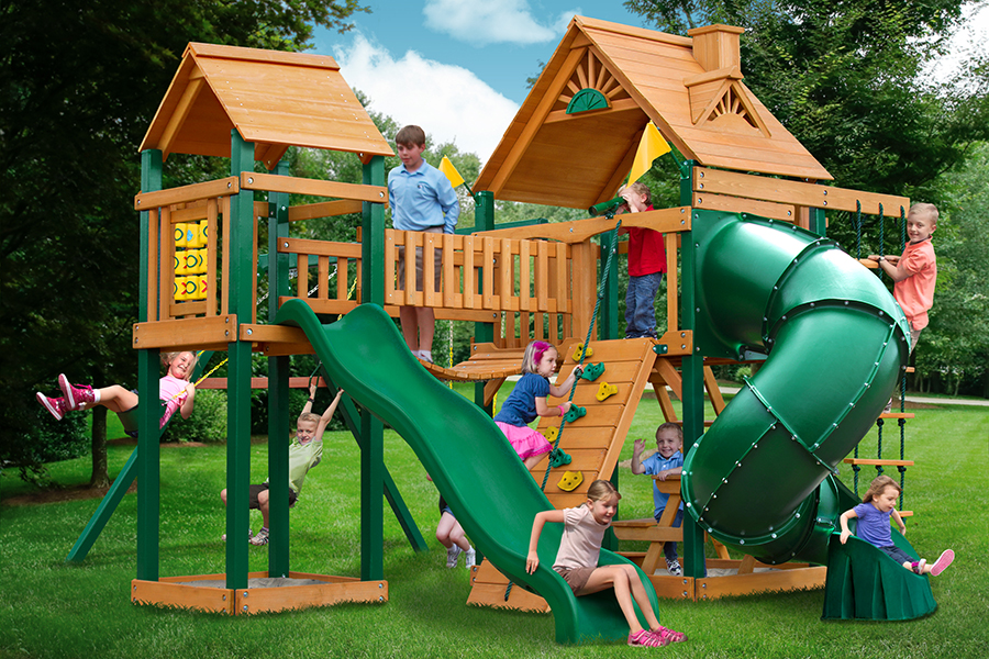 Horizon W Clatter Bridge Tower Tube Slide Playnation Of Wnc