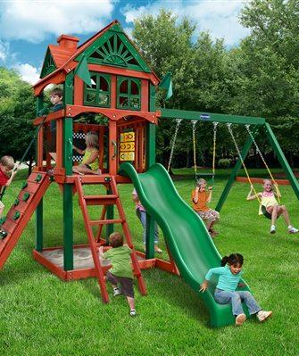 Redbrook Swing Set - Five Star II Swing Set