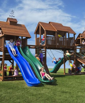 Adventure Mountain Swing Set