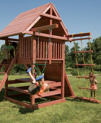 Juggling Act Swing Set