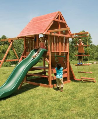 Opening Star Swing Set