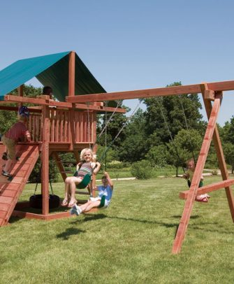 Three Ring Adventure Swing Set